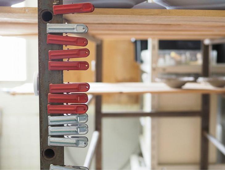 美しく並ぶ道具