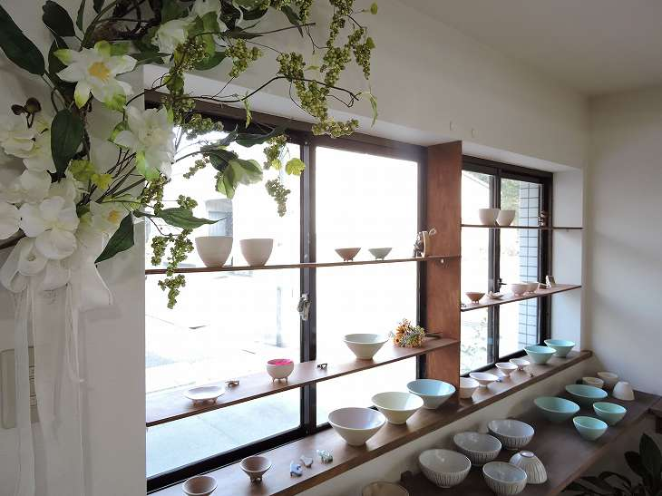 陶器店兼工房